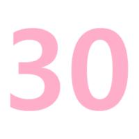 30のやり方を手話動画で!数字の表現を詳しく解説します!
