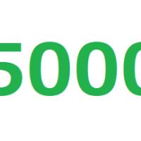 5000のやり方を手話動画で!数字の表現を詳しく解説します!