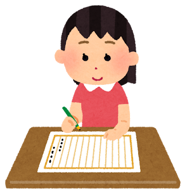 書くの手話