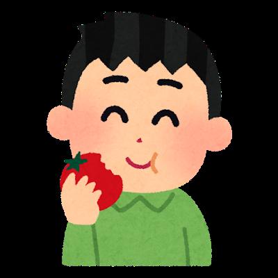 トマトの手話