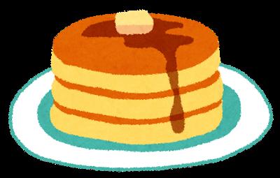 パンケーキの手話