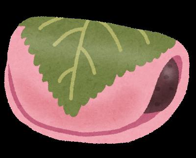 桜餅の手話