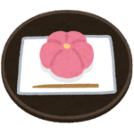 和菓子の手話